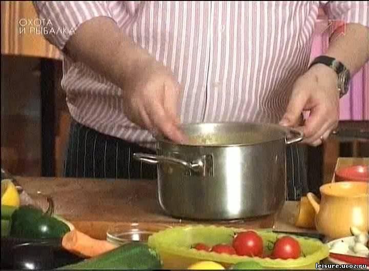 Рыбный суп от сержа марковича